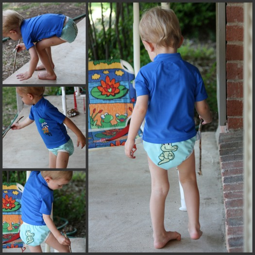 My Favorite Swim Diaper Works as a Trainer