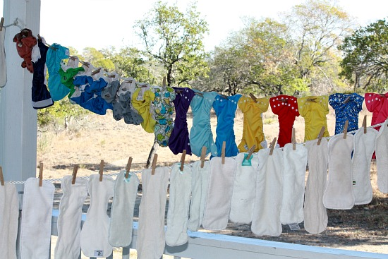 Do You Line Dry Your Cloth Diapers?